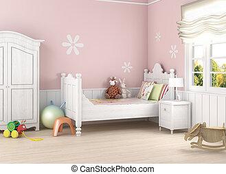 girlâ´s, espacio rosa