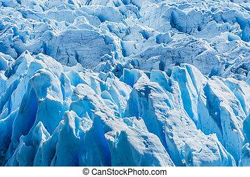 glaciar, argentina, detalle, perito, moreno