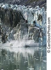 glaciar, calving