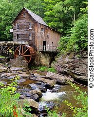 Glade Creek, molino