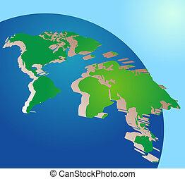 Globe del mundo