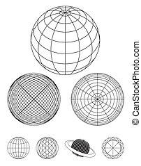 globo, contorno
