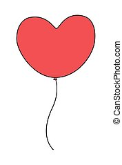 Globo del corazón