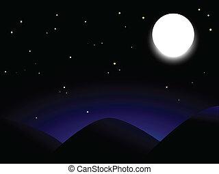 globo, luna