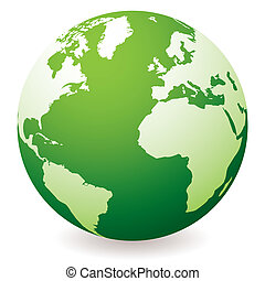Globo Tierra Verde