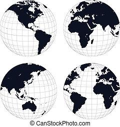 Globos de la Tierra
