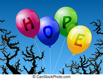 Globos esperanza