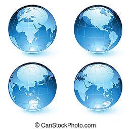 Glossos mapas terrestres