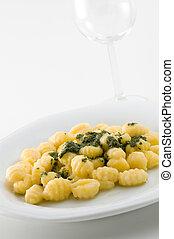 Gnocchi italianos