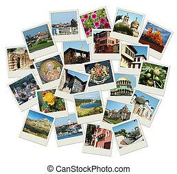 Go Bulgaria - fondo con fotos de viajes de lugares famosos