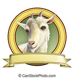 goat, etiqueta