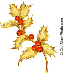 Gold holly