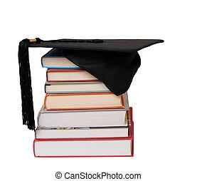 gorra, educado, libros
