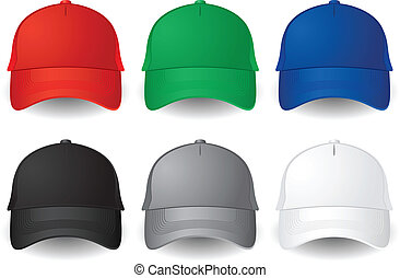Gorras de béisbol Vector
