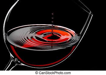 Gotas de vino