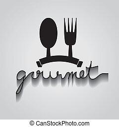 Gourmet vector de error, EPS 10