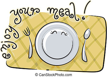 gozar, su, comida