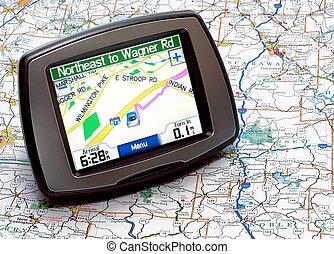 GPS o mapa