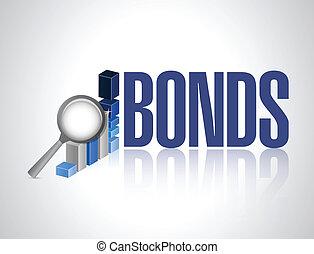 gráfico, diseño, ilustración negocio, bonos