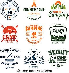 Gráficos de campamentos antiguos