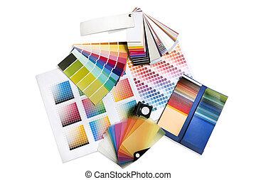 Gráficos o decoradores de colores