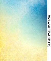 gradiente, texturas, nube