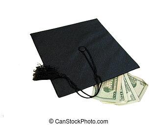 Graduación en efectivo