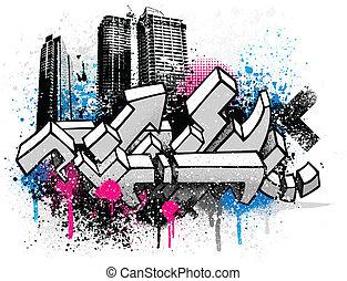 Graffiti de la ciudad