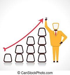 Grafico de crecimiento de negocios