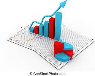 Grafico de negocios