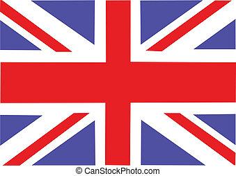 gran bretaña, grande, bandera