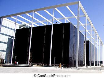 Gran edificio corporativo