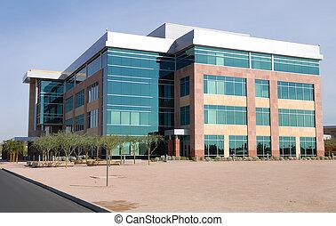 Gran edificio moderno