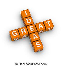 Gran icono de ideas