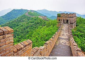 Gran muro de porcelana