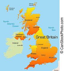 Gran país británico