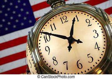 Gran reloj central