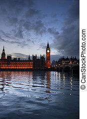 grande, parlamento, ben, casas