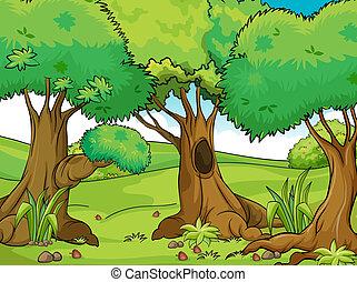 Grandes árboles