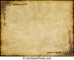Grandes antecedentes de viejas texturas de papel con diseño original