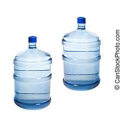 Grandes botellas de agua