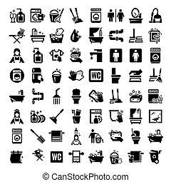 Grandes iconos de limpieza