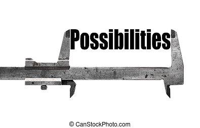 Grandes posibilidades
