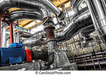 Grandes tuberías industriales
