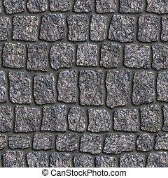 granito, sett., tileable, texture., seamless