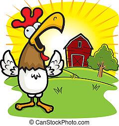 Granja de gallos