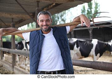 granja, ganado