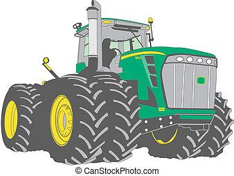Granja tractor