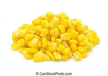 granos, sweetcorn, pila