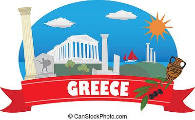 greece., turismo, viaje